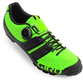Giro Code Techlace schoenen Heren groen/zwart